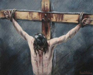 JESUS MUERE EN LA CRUZ