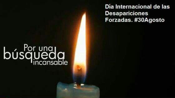 """30 de Agosto – """"Día Internacional de las Personas Desaparecidas"""""""