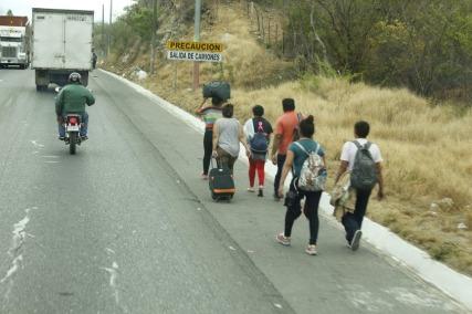 MIgrantes en camino